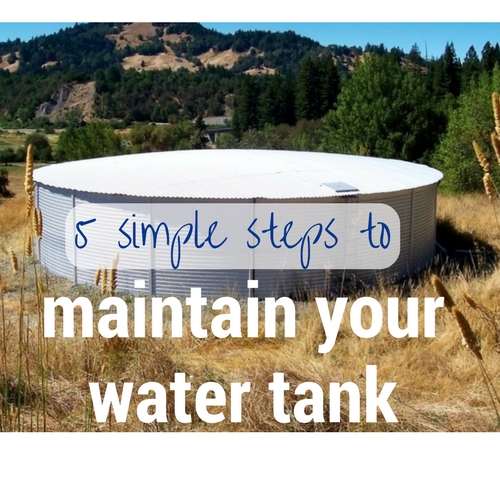 5 simple steps maintain your water tank
