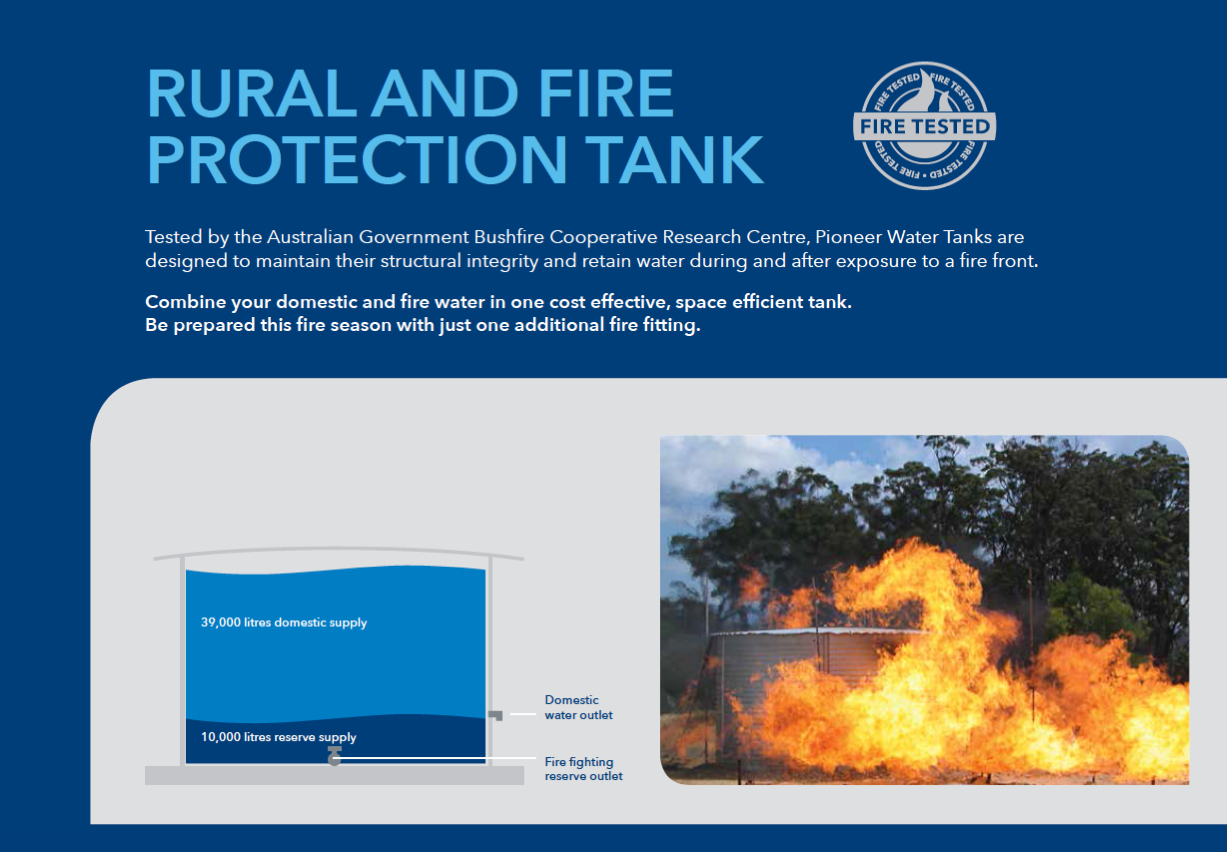 Picture of fire tank